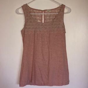 J. Crew Sleeveless shirt. Size XXS